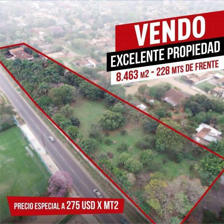 Excelente propiedad 8.463 m²