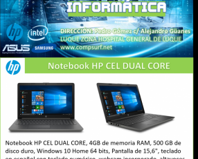 Notebook HP Cel Dual Core