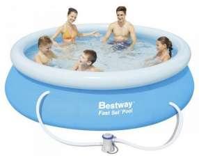 Piscina Bestway 57268 borde inflable 2.300 litros con filtro