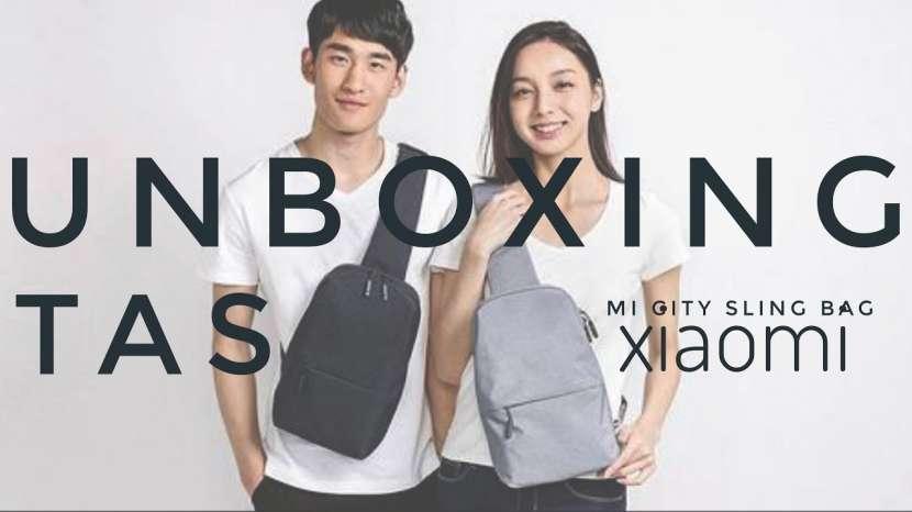Mini mochila de ciudad Xiaomi urban - 1