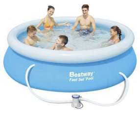 Piscina Bestway 57268 borde inflable 2.300 litros con filtro