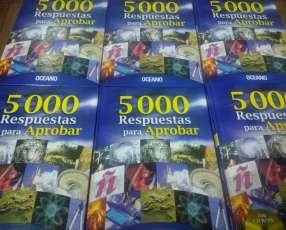 Libros 5000 respuestas para aprobar Oceano + CD