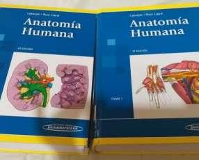 Libro de Anatomía Humana. Latarjet.