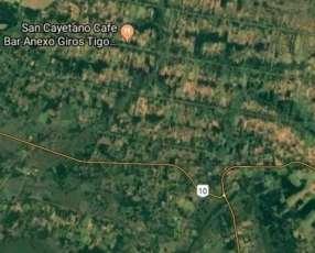 Terreno de 4 hectáreas en San Estanislao