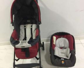 Carrito Chicco + car seat + base
