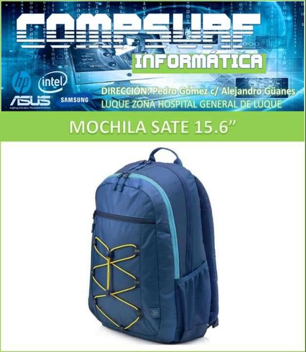 Mochila HP azul 15.6 pulgadas