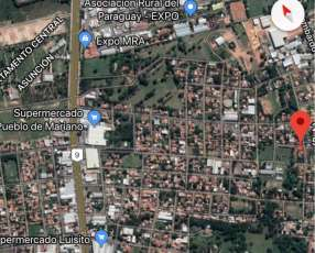 Terreno 12x30 zona radar Mariano Roque Alonso