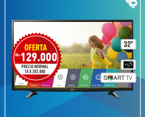 TV Smart LG 32 pulgadas HD