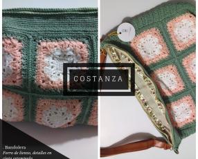 Bolso de crochet ganchillo hecho a mano