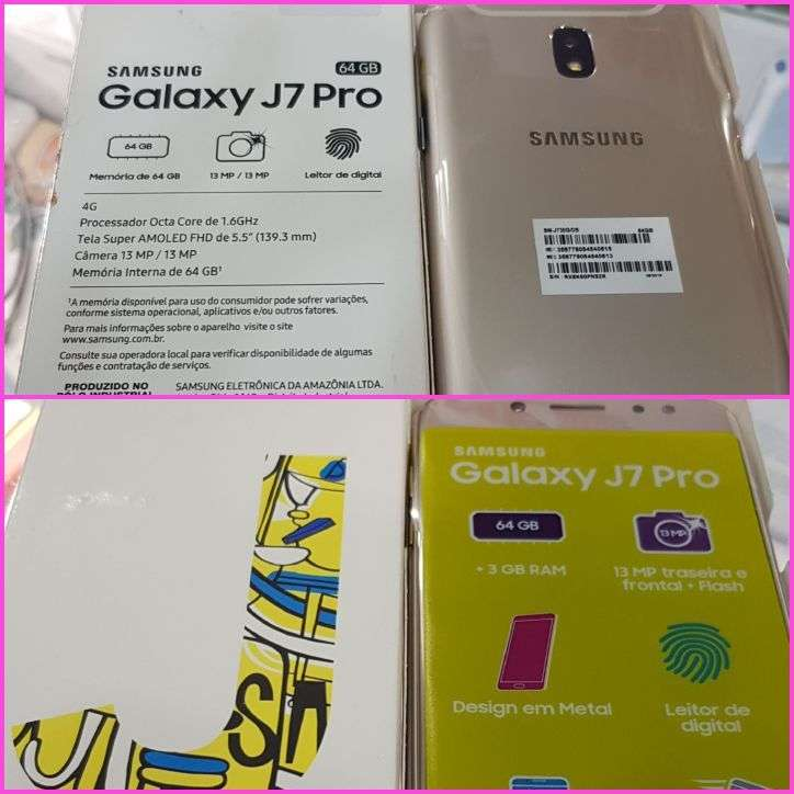 Samsung Galaxy J7 Pro de 64 gb - 0