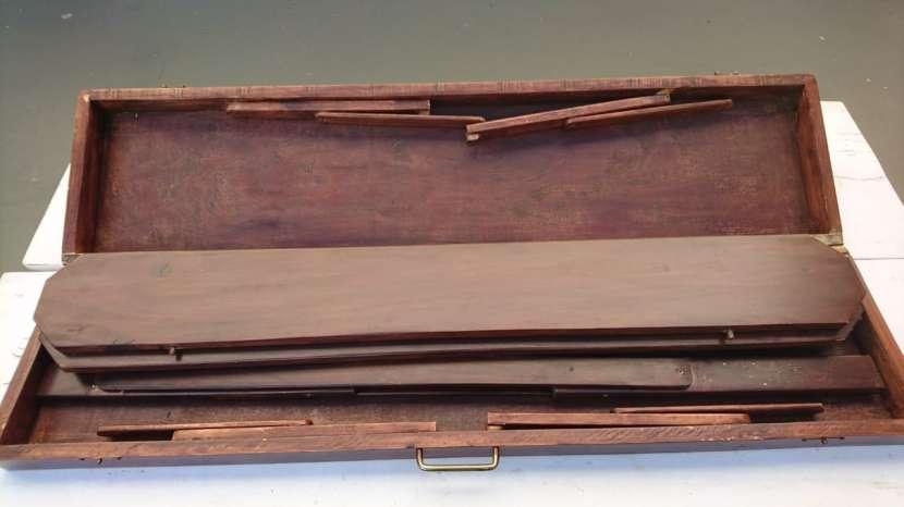 Mesa plegable de madera para camping decoracion id 502011 for Mesas plegables para camping