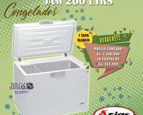 Congelador Jam 200 litros horizontal