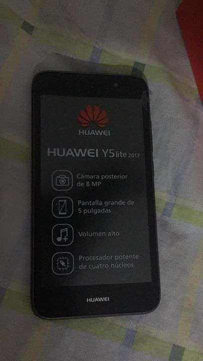Huawei y5 lite 2017 nuevo en caja - 0