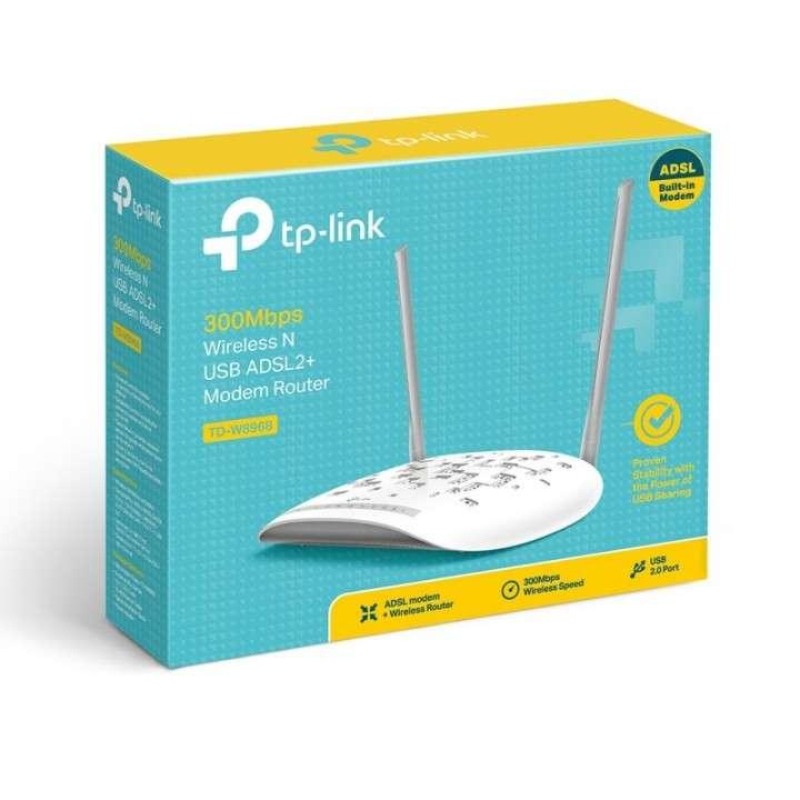Wire router TP-LINK TD-W8961N ADSL2 más módem 300 mbps