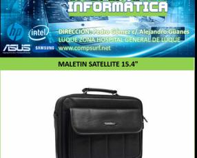 Maletín Satellite 15.4 pulgadas A-KP40