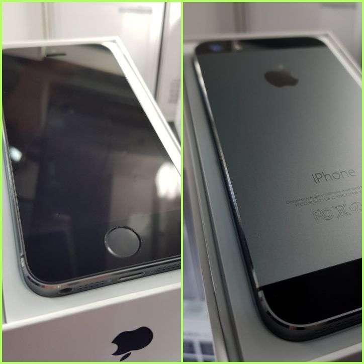 IPhone 5s de 32 gb en caja más protectores antishock