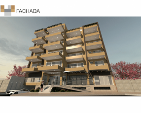 Departamentos en moderno edificio
