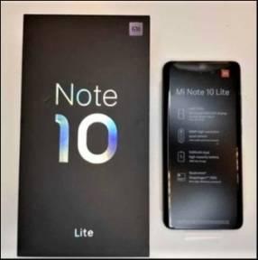 Xiaomi Mi Note 10 Lite de 64 gb nuevos