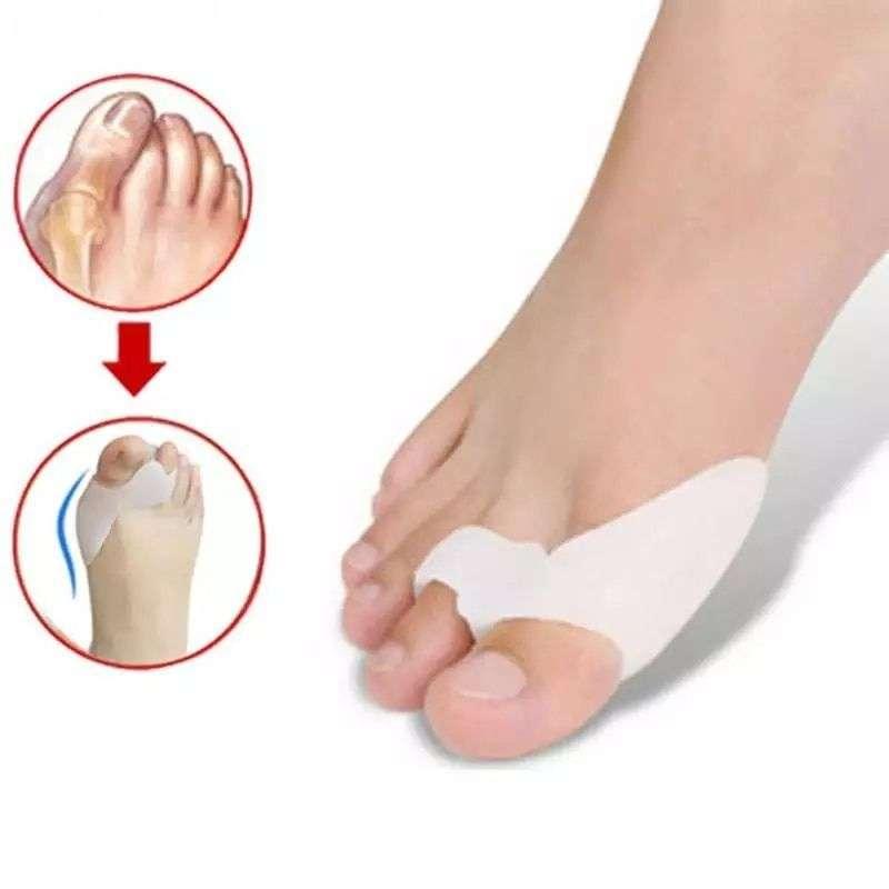 Silicona Dedo Gordo del pie Juanetes - 0