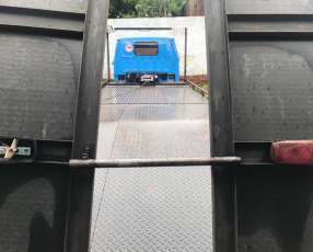 Plataforma para grúa con molinete