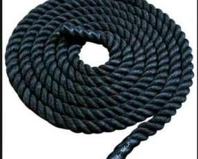 Cuerda soga marina para ejercicio de batallas