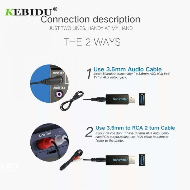 Transmisor Bluetooth Adaptador - 4