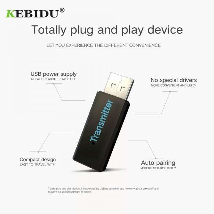Transmisor Bluetooth Adaptador - 5