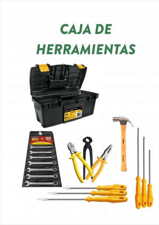 Caja completa con herramientas nuevas - 0