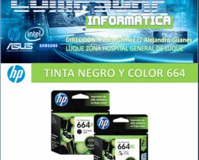 Tinta XXL 664 Negro/Color