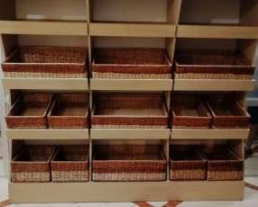 Exhibidores de pan