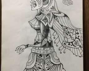 Dibujo tovatimávico de Gonzalo Soler