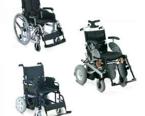 Sillas de ruedas motorizadas