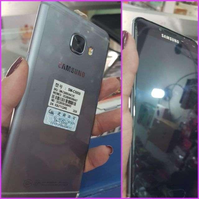 Samsung Galaxy C5 nuevo más protectores