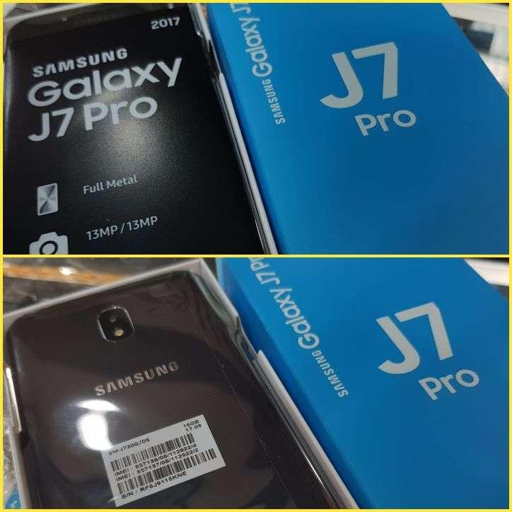 Samsung Galaxy J7 Pro 32 gb rosa nuevo - 0