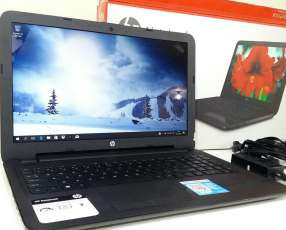 Notebook hp15 semi nueva