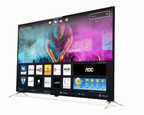 Smart Tv AOC 4K ultra HD de 55 pulgadas