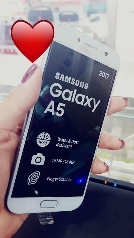 Samsung Galaxy A5 2017 de 32 gb nuevo - 0