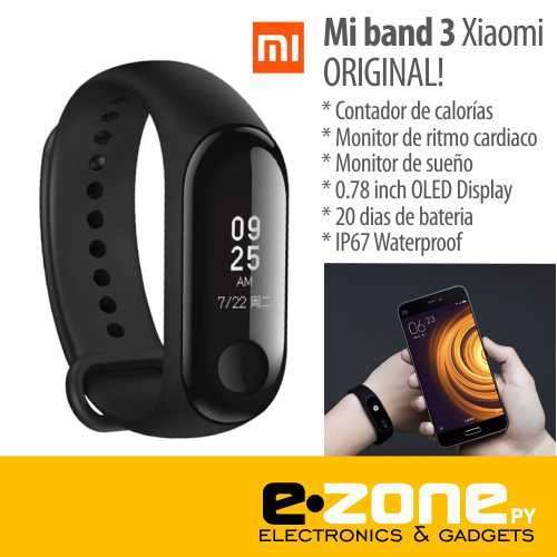 Pulsera smart Fitness Xiaomi Mi Band 3 - 0