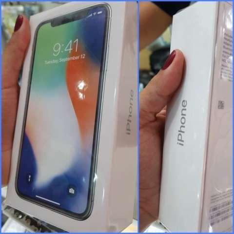 iPhone X de 256 gb nuevo en caja sellada con garantía escrita - 0