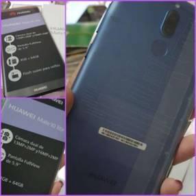 Huawei Mate10 lite nuevo más protectores antishock
