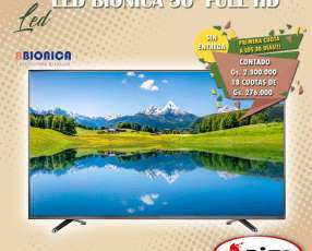 TV LED Bionica de 50 pulgadas
