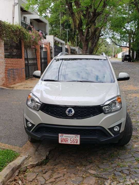 Ssangyong Korando 2014 diésel automático 4x4