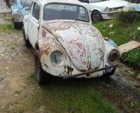 VW Escarabajo sin motor
