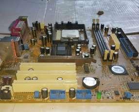 Placa Asus K8V-MX + CPU AMD Sempron 2600+