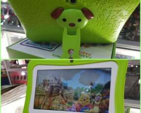 Tablet Family verde wifi y funda personalizada nuevo