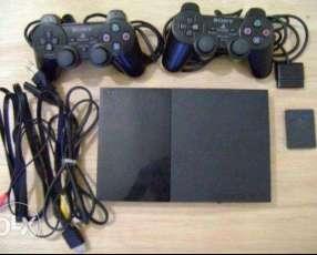 PS2 sistema pendrive con 2 controles nuevos