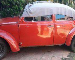 Volkswagen Fusca 1981 cédula marrón