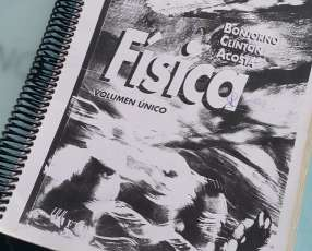 Libro de Física Bonjorno
