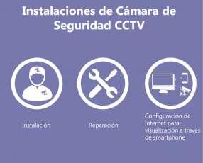 Instalación de cámaras CCTV