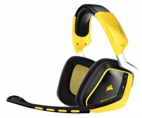 Auricular Corsair CA-9011135-NA gaming void rgb amarillo